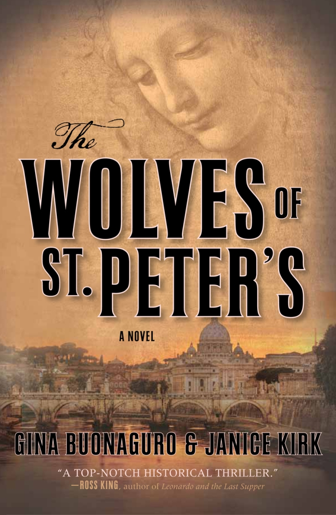 The cover of The Wolves of St. Peter's by Gina Buonaguro and Janice Kirk